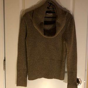 Ann Taylor Loft Cowl Neck Sweater - Size: Large